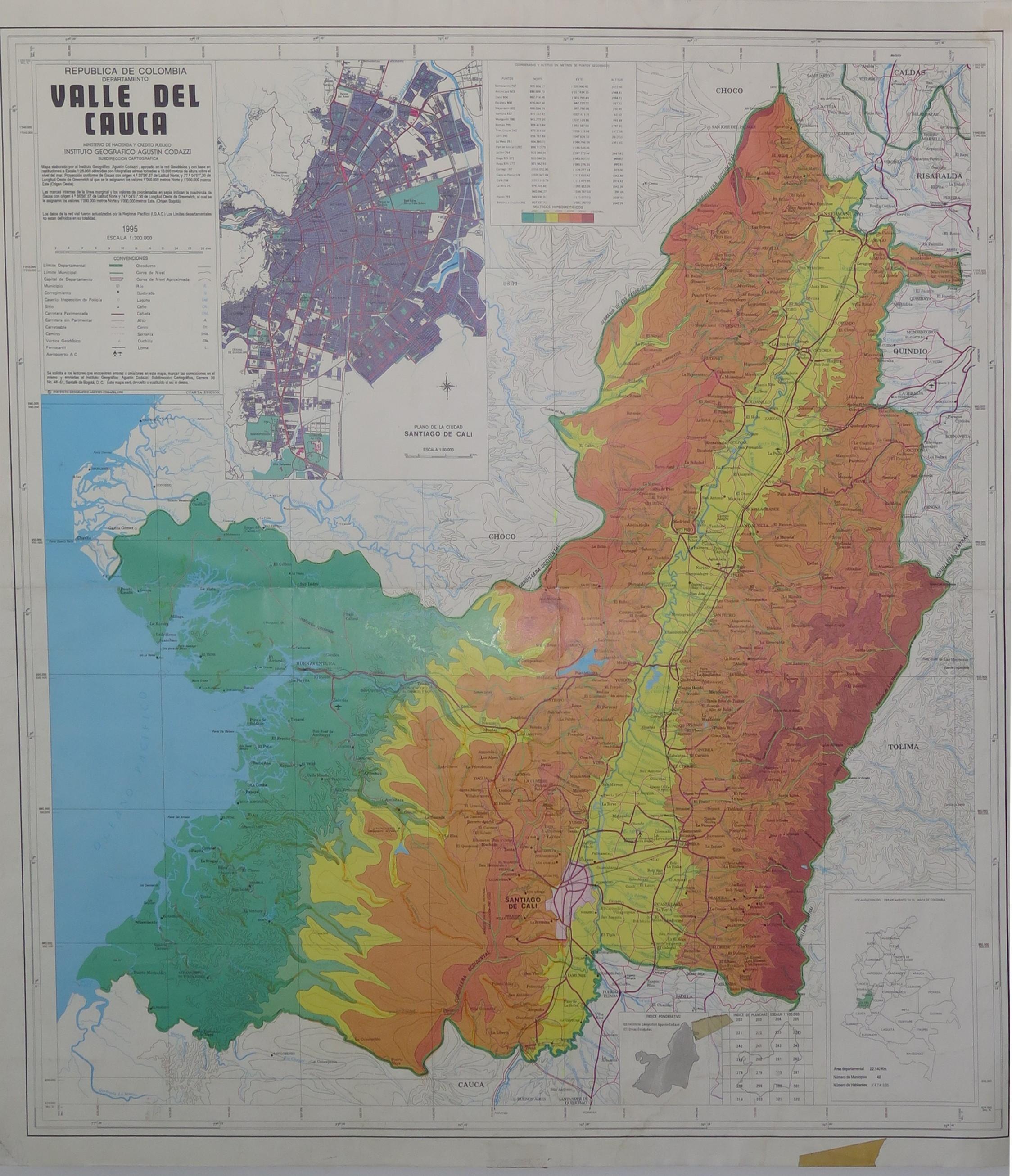 Picture of: Mapoteca Mapa Geografico Del Valle Del Cauca Geonode Siam